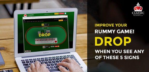 Classic Rummy Drop Rules