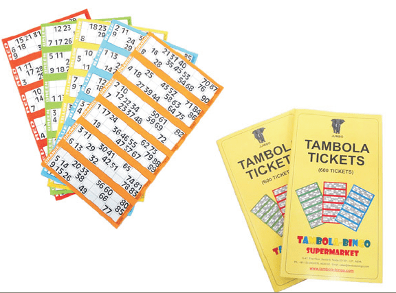 tambola game tickets