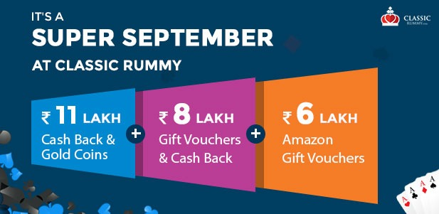 online classic rummy september offers