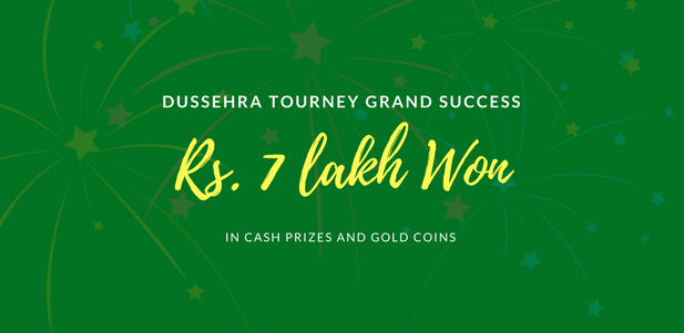 Dussehra Tourney Grand Success