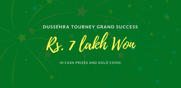 Dussehra Tourney Grand Success