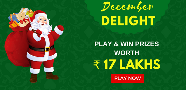 December delights online classic rummy game