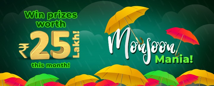 online classic rummy monsoon july promotions