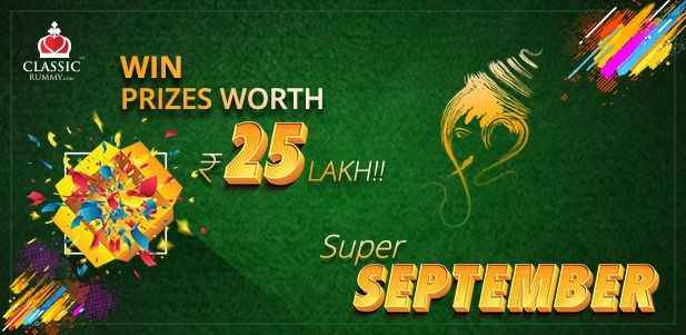 Classic Rummy September Promotions