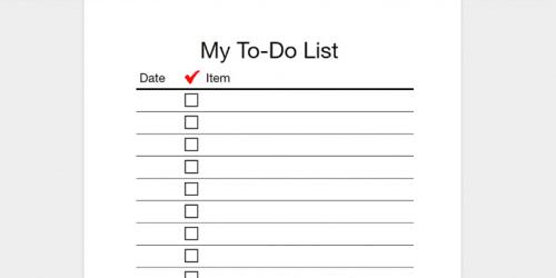 to do list ways to relieve hack stress