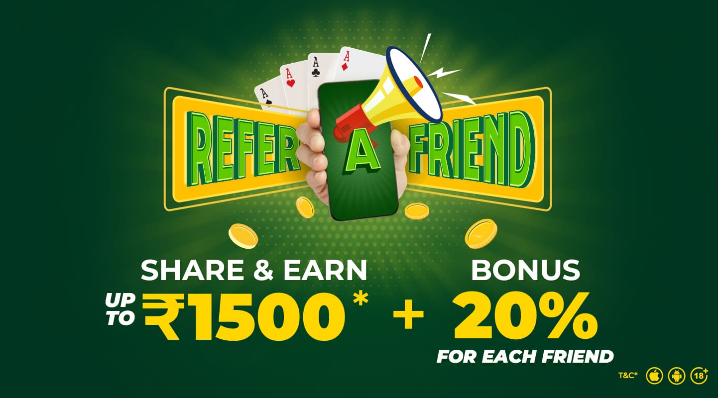Refer Friends and Earn Cash at ClassicRummy