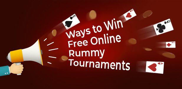 ways to win free online rummy tournaments