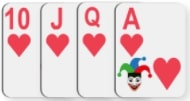 rummy impure card sequence