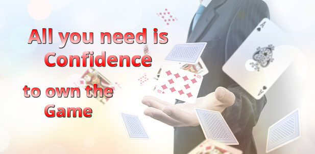 how to be a bold confident online rummy player