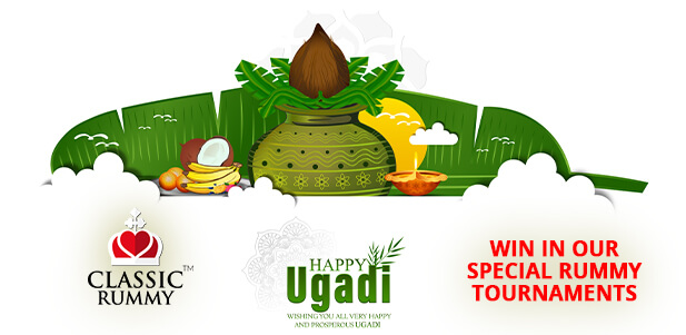 celebrate ugadi with a win in our special  rummy tournaments