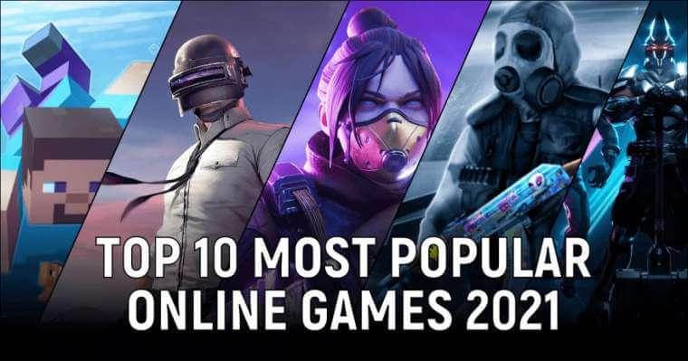 most popular online gaming genres in 2021