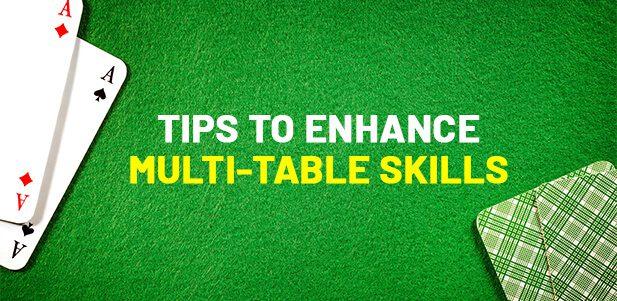 Multi-Table Skills In Online Rummy