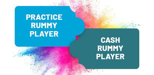 Practice Cash Rummy Player