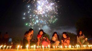 Diwali celebrations family get together