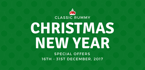 classic rummy christmas offers promotions online