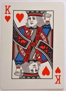 Suicide King Playing Card Facts